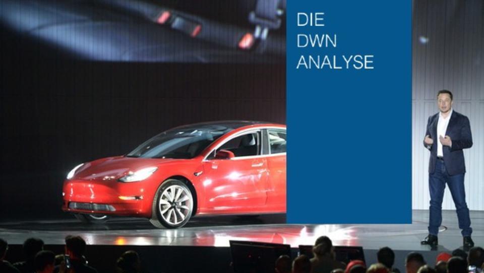 Tesla - der Überflieger unter den E-Autoherstellern