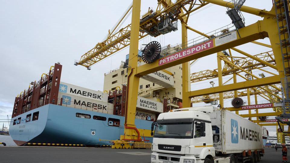 Blockchain-Plattform von IBM und Maersk startet in Russland