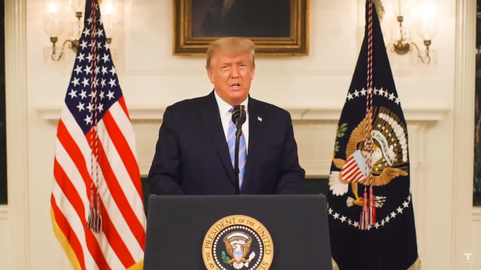 Trump fordert Bestrafung der Beteiligten am Sturm aufs Kapitol