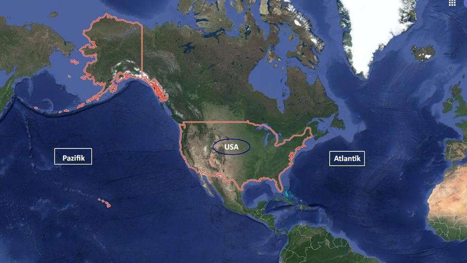 Immer noch unangreifbar, aber nicht mehr Zentrum der Welt: Die USA werden ihr Imperium aufgeben müssen