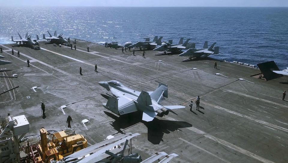 US-Flugzeugträger sorgt für neue Spannungen mit China