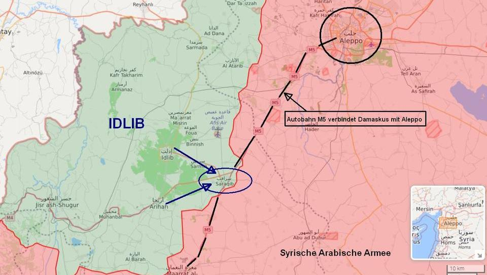 Syrien: Erdogan-Armee erobert Assads wichtigste Nachschublinie