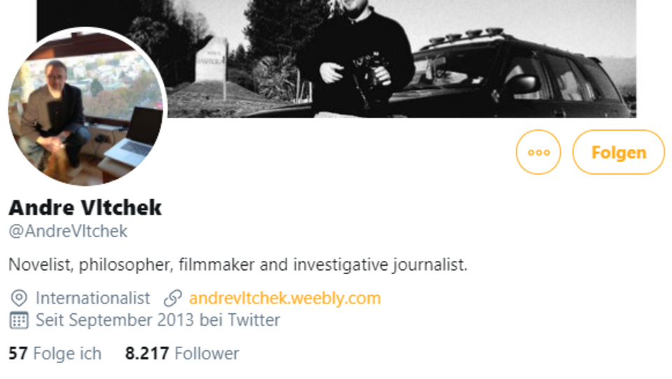 Russisch-amerikanischer Journalist Andre Vltchek stirbt in Istanbul