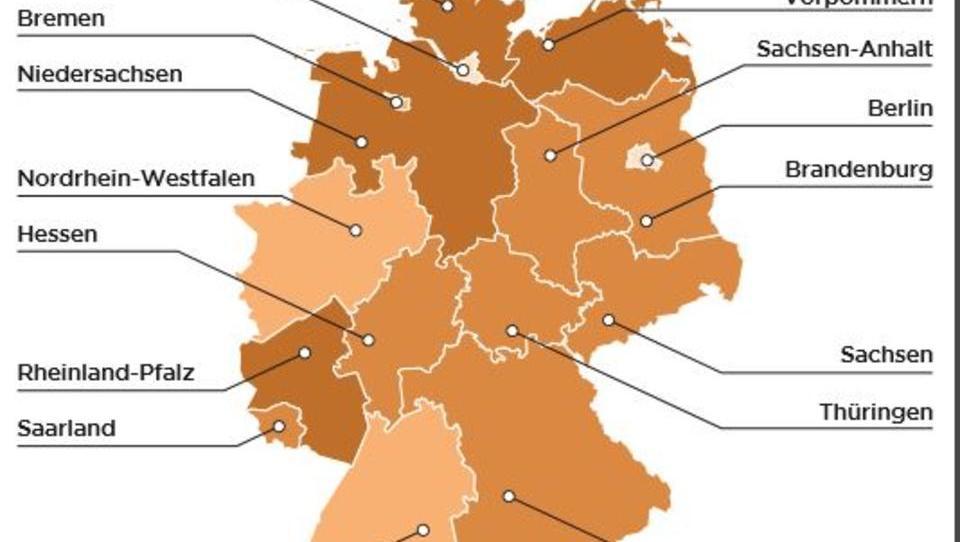 Deutschland-Vergleich: Bremer haben alte Autos, Berliner fahren wenig