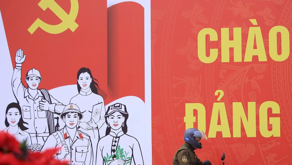 Hanoi ganz in Rot: Kommunistischen Partei stellt Weichen bis 2025