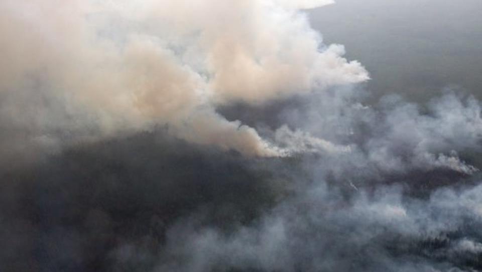 Gigantische Waldbrände in Russland vernebeln Teile der Arktis