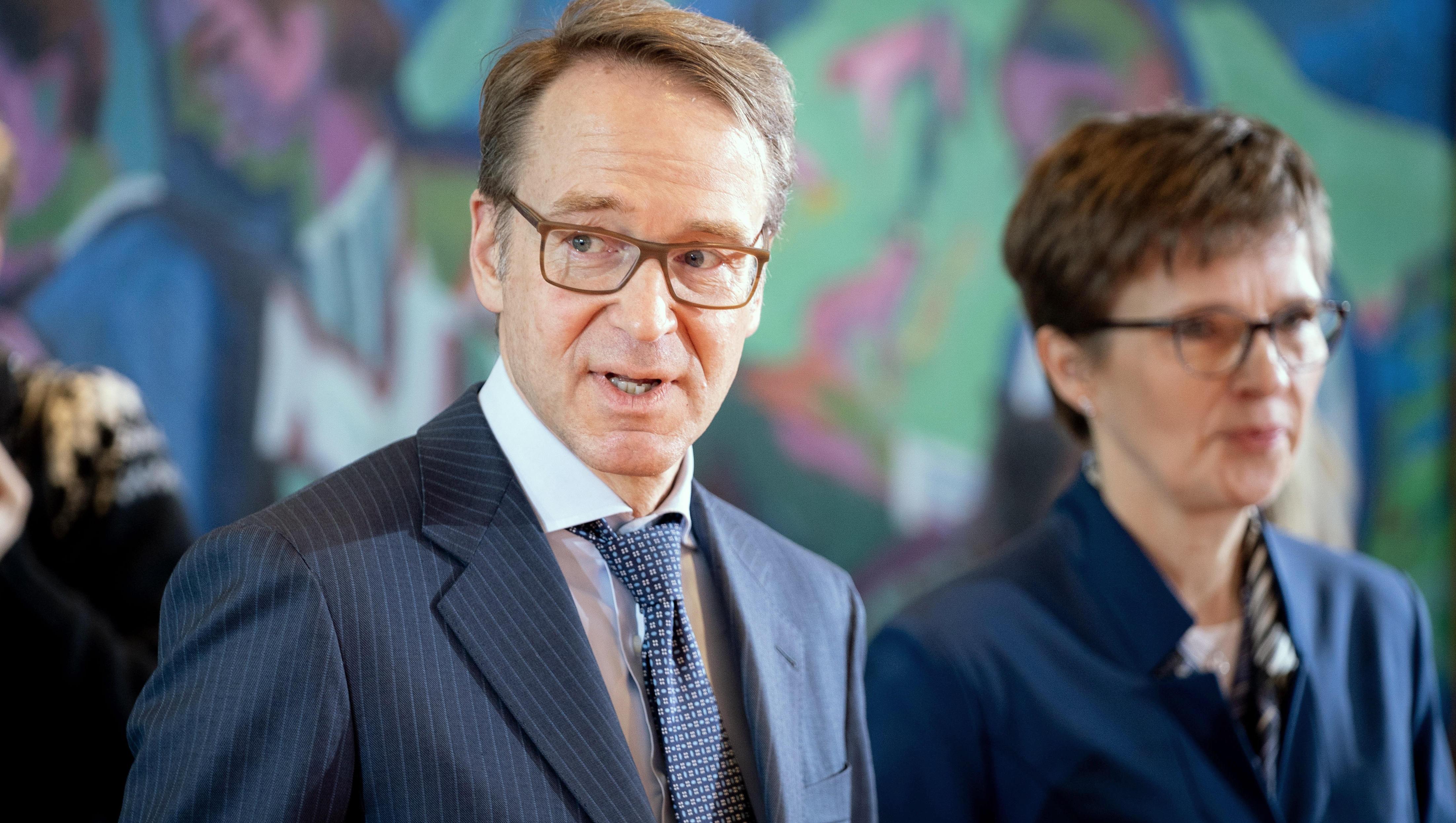Bundesbank-Chef Weidmann warnt EZB vor deutlicher Anhebung des Inflationsziels