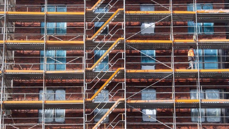 Zahl der Baugenehmigungen auf höchstem Stand seit 2016