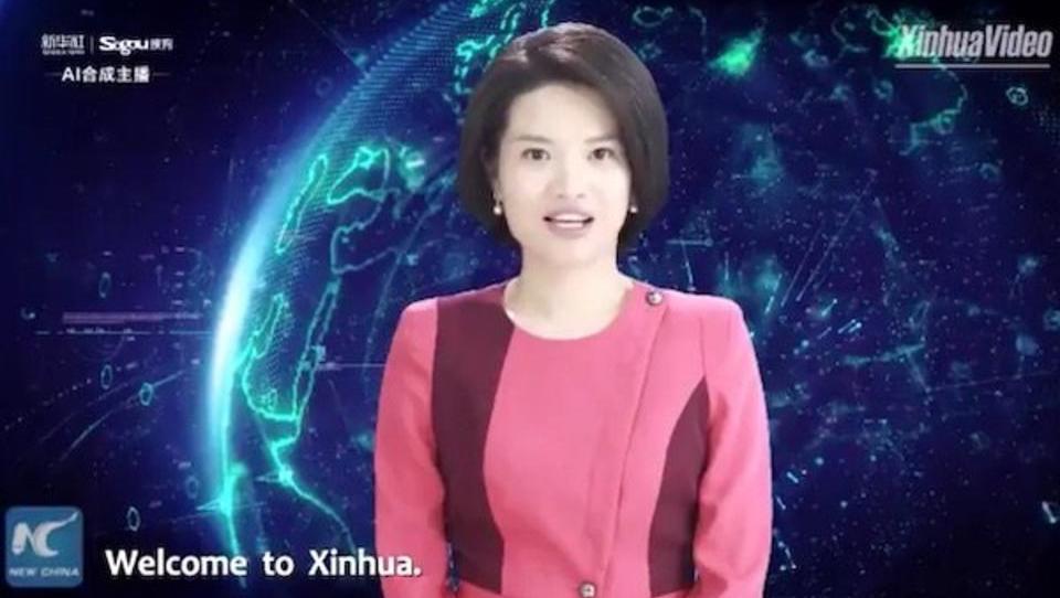 China setzt Roboter-Puppen als Nachrichtensprecher ein