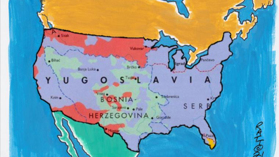 Die Balkanisierung der USA hat längst begonnen
