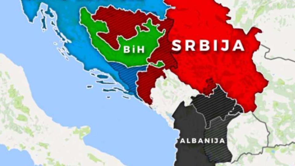 Eine neue explosive Landkarte sorgt für viel Verwirrung auf dem Westbalkan
