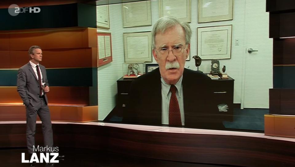 Wie das ZDF den Kriegstreiber John Bolton hofiert, weil er gegen Trump ist