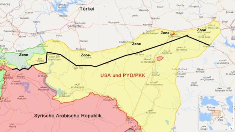 Putin lehnt Erdogans territoriale Ansprüche in Syrien ab