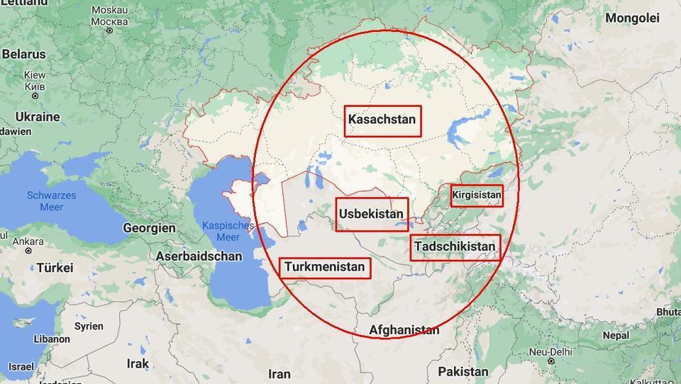 Zentralasien: Das Zentrum des Schachbretts