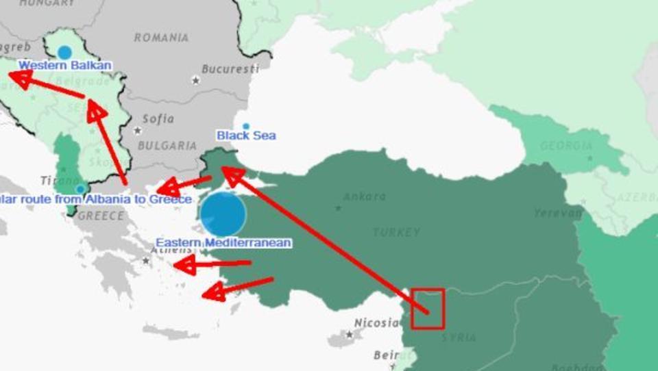 Chaos in Syrien: Zehntausende Syrer wollen in die Türkei und nach Europa