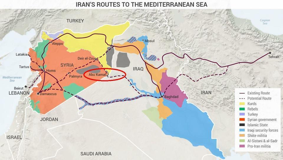 Iran erhält großen taktischen Vorteil in Syrien