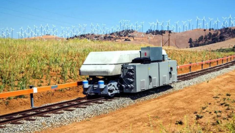 Technologie: Zugwaggons als Stromspeicher für erneuerbare Energien