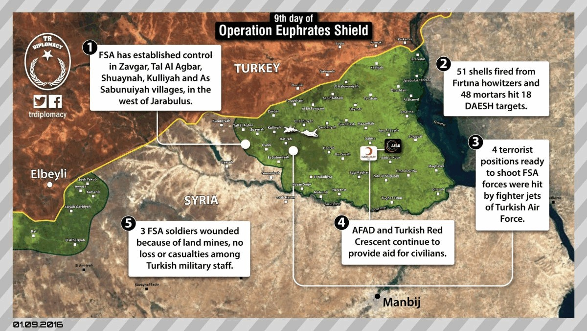 Türkei schlägt ISIS-Offensive in Aleppo zurück