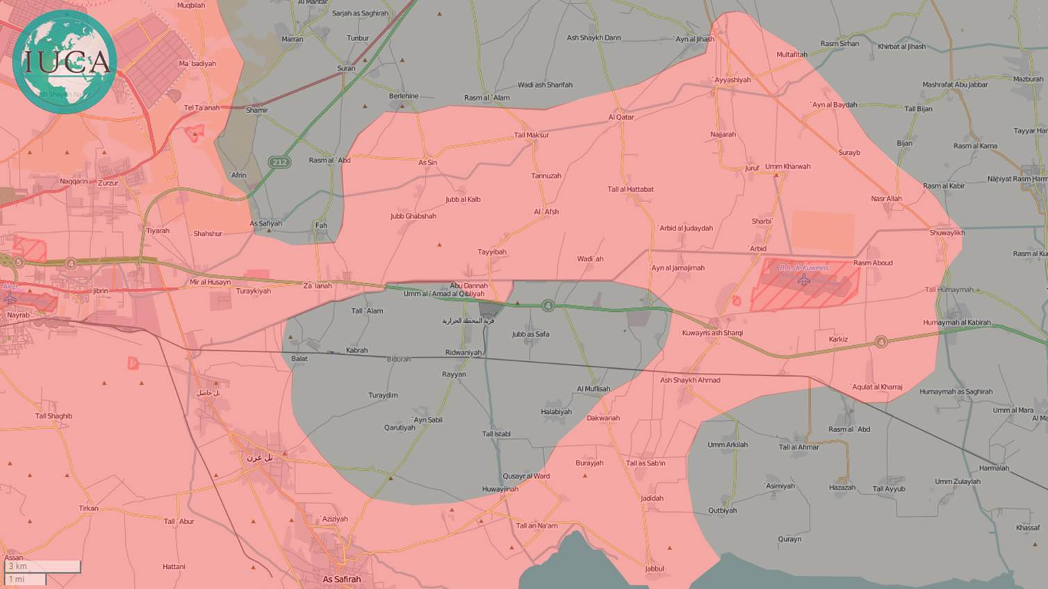 Russland und Syrien umzingeln ISIS bei Aleppo