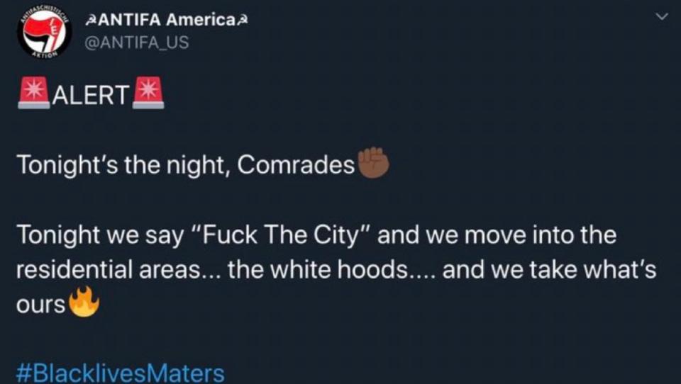 Twitter sperrt Fake-Antifa-Konto