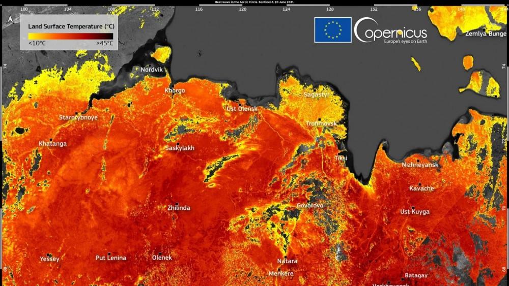 Höchstwert 48 Grad: Rekordhitze im arktischen Russland