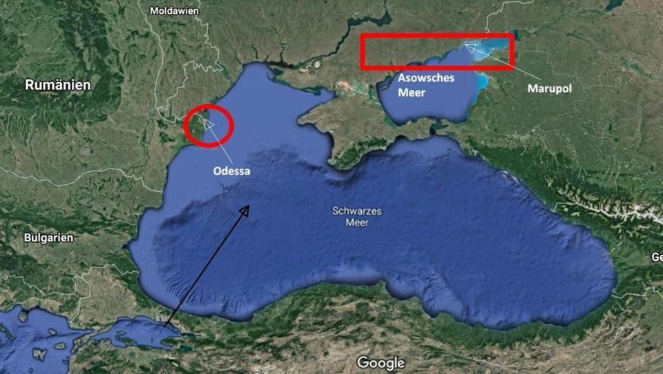 Großbritannien entsendet Kriegsschiffe ins Schwarze Meer, Biden will Einigung mit Putin