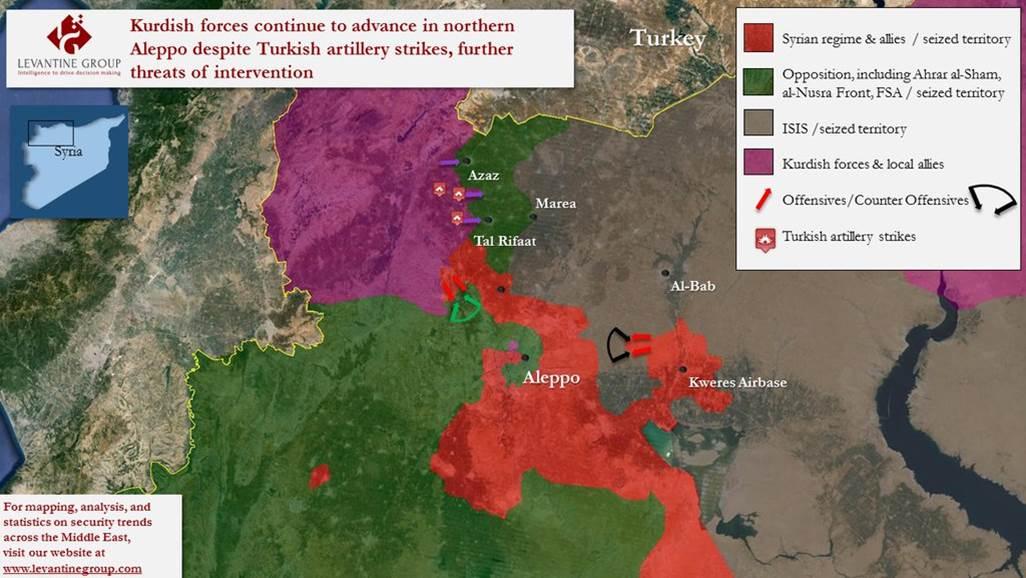 Damaskus meldet erstes Eindringen der Türkei in Syrien