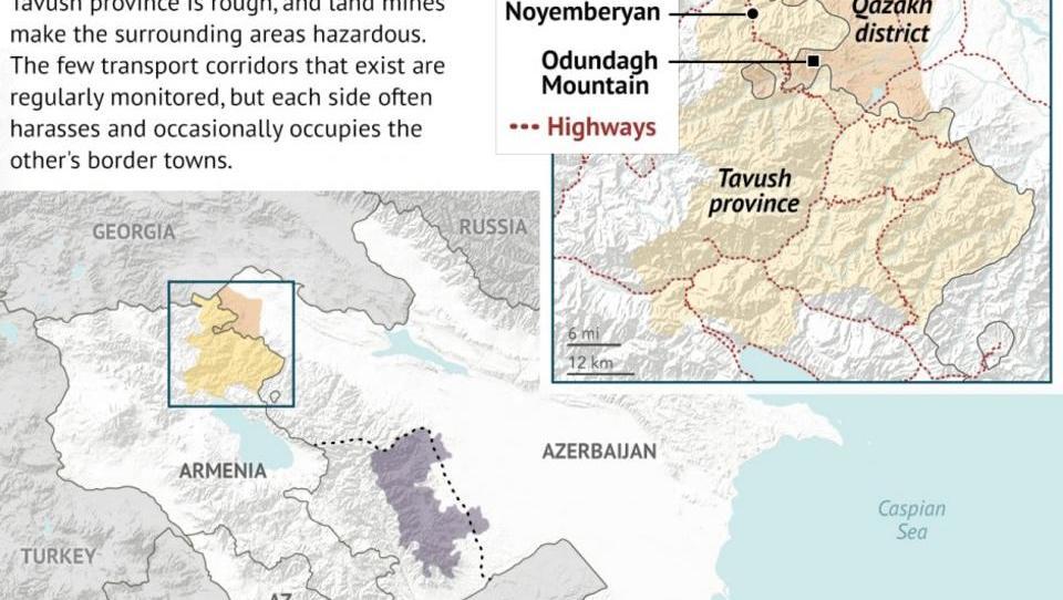 Türkei und Russland besorgt um Stabilität in Armenien