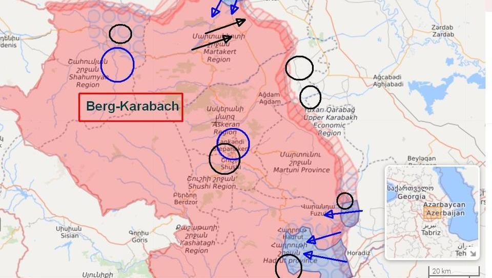Lagebericht: Aserbaidschanische Armee erzielt Erfolge gegen Armenien