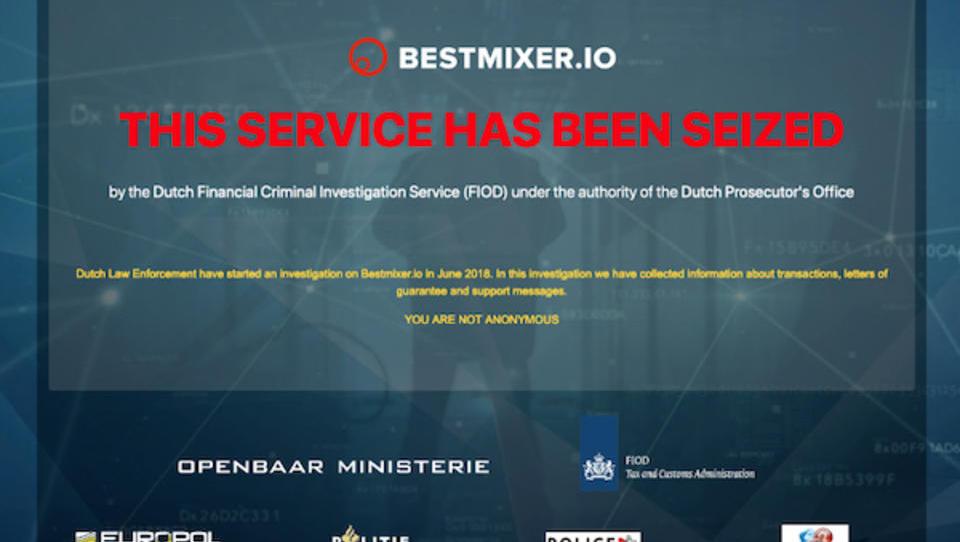 Vorwurf Geldwäsche: Europol beschlagnahmt Bitcoin-Mixer