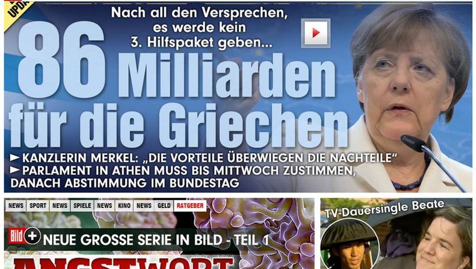 Dokument des Scheiterns: Merkels peinliches Gestammel zur Euro-Rettung