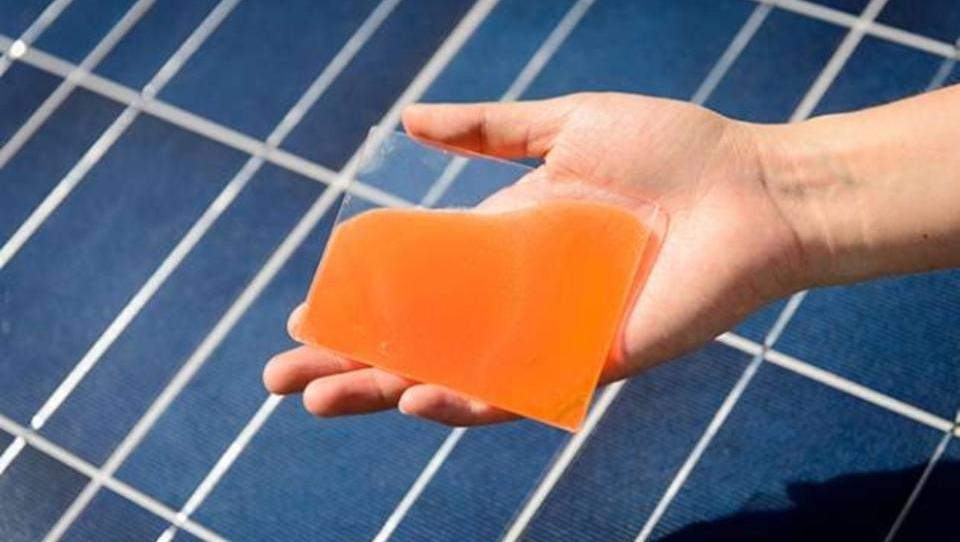 Spezial-Gel steigert die Effizienz von Solarzellen