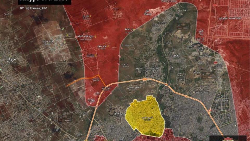 Schlacht um Aleppo: Armee schneidet Söldnern letzten Fluchtweg ab