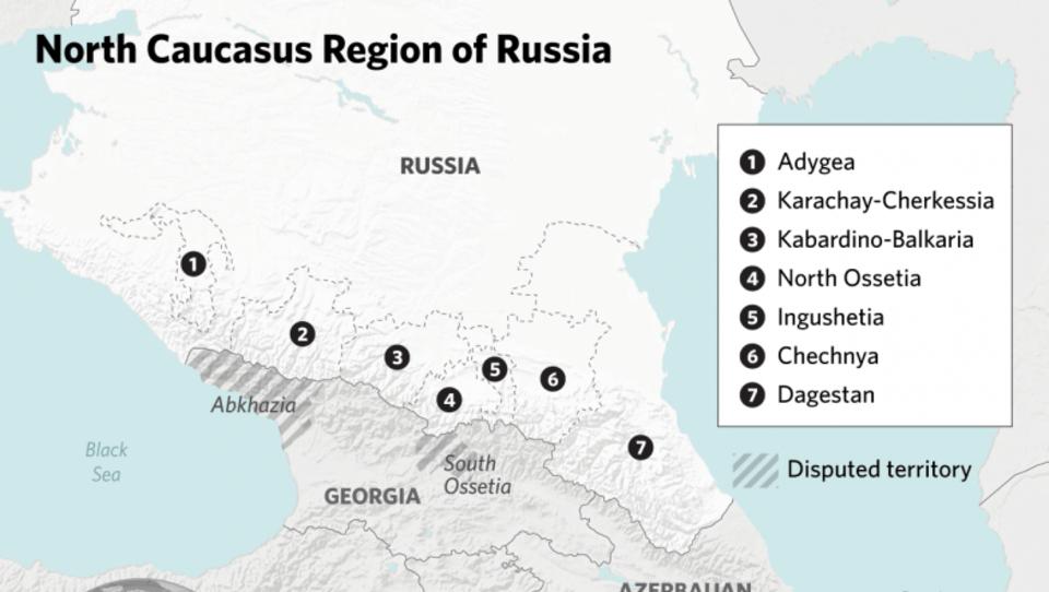 Im Nordkaukasus ist es derzeit überraschend ruhig