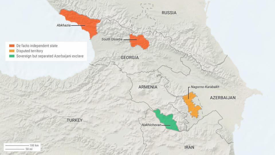 Russland und Georgien mobilisieren Truppen im Grenzgebiet