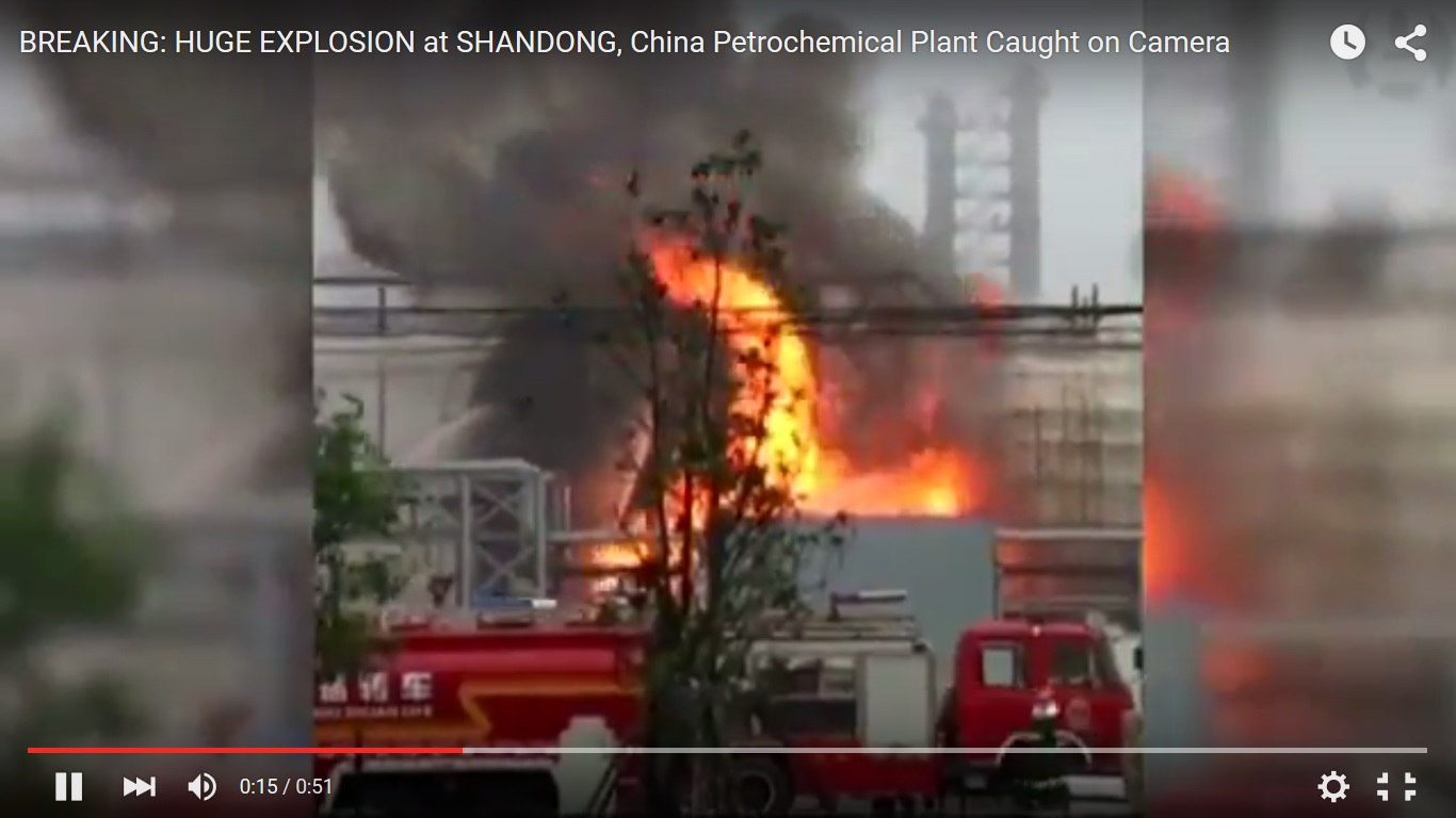 China: Erneute Explosion in Chemiefabrik