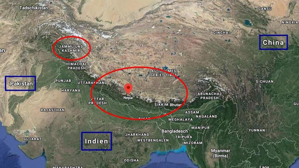 Der Kampf um das Himalaya-Gebirge hat begonnen