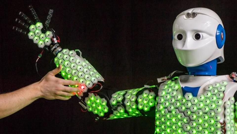 Münchner Forscher entwickeln Haut für Roboter