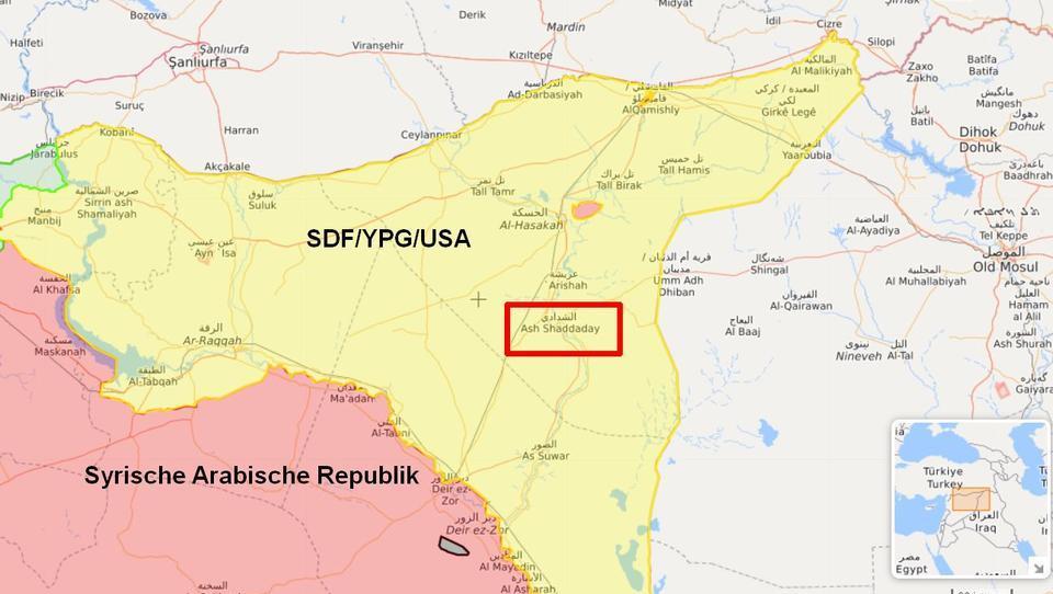 Einwohner protestieren gegen SDF-Milizen im Nordosten Syriens