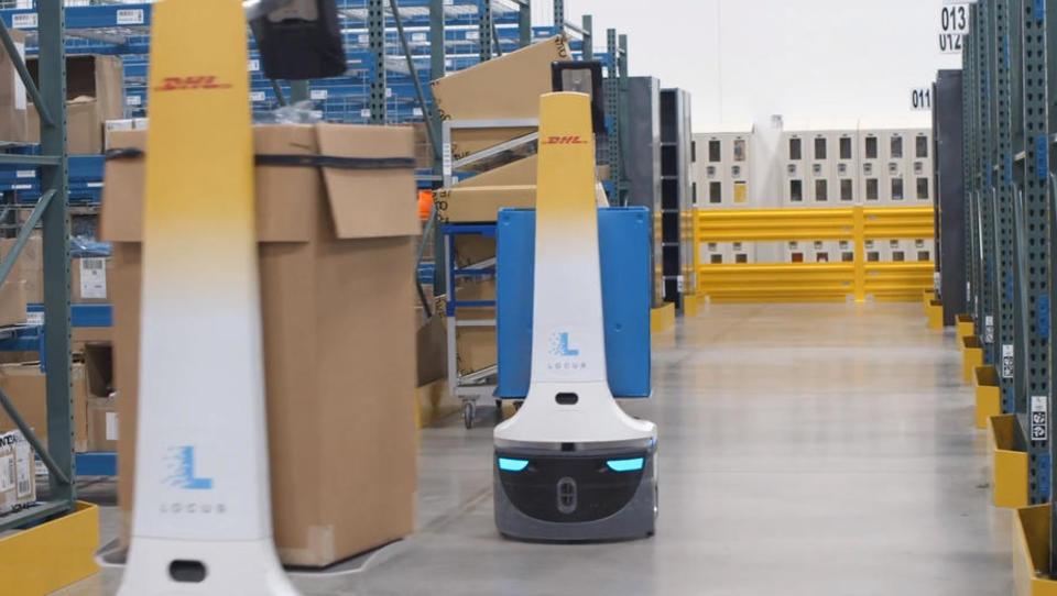 Massive Aufstockung: DHL schickt jetzt 2.000 Lager-Roboter ins Rennen