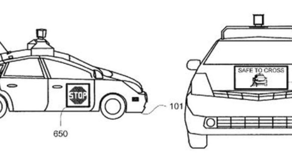 Google meldet Patent für Rundum-Bildschirm im Auto an