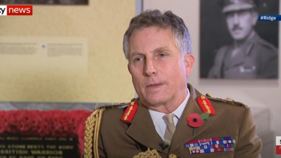 Großbritannien: Oberster General warnt unmissverständlich vor einem Dritten Weltkrieg