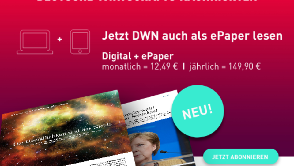 DWN ePaper: Besser informiert im neuen Jahr!