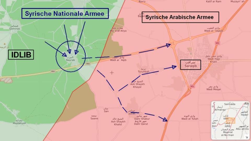 DWN Exklusiv: Zugang nach Idlib gefallen - jetzt hat Erdogans Armee freie Bahn