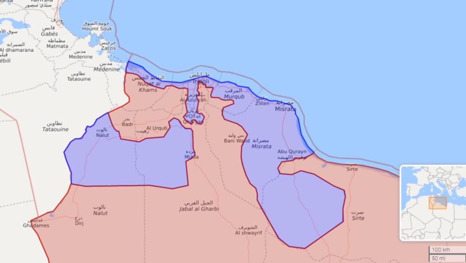 Libyen: Söldner-General Haftar erleidet schweren Rückschlag