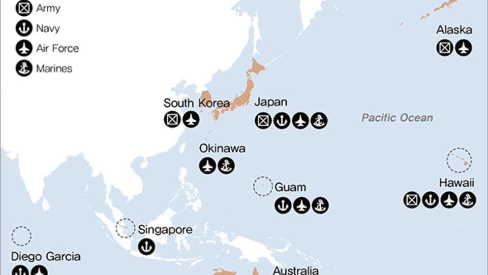 Gegen China: USA verstärken ihre Militärpräsenz in der Asien-Pazifik-Region