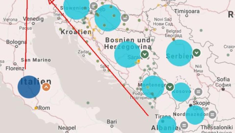 EU tatenlos: Tausende Afghanen und Pakistaner auf der Balkan-Route gestrandet