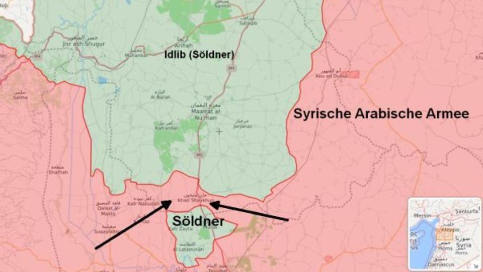 Al Nusra-Front erleidet schwere Niederlage in Idlib
