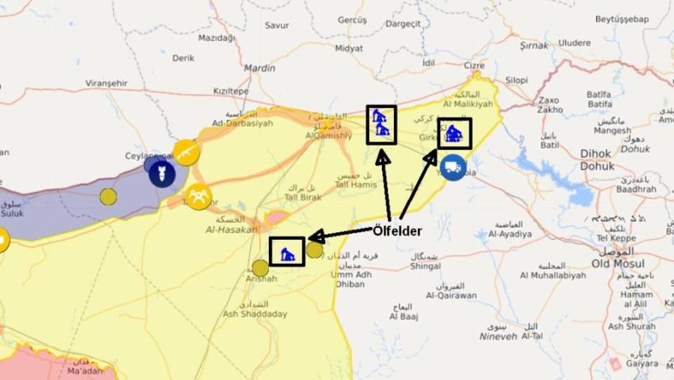 Berichte: USA errichten Militärstützpunkte an Ölfeldern in Syrien