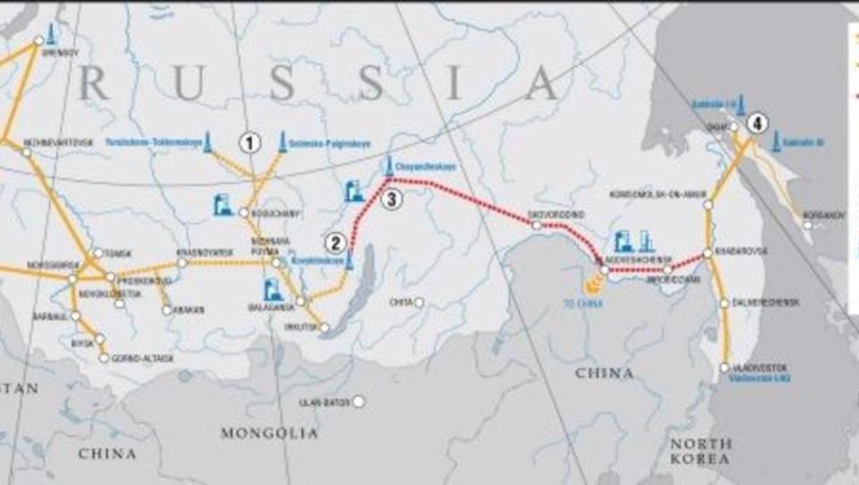 Pipelinebau zwischen China und Russland kommt ins Stocken